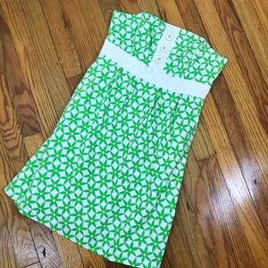 LILLY PULITZER | Retro Green Floral Dress